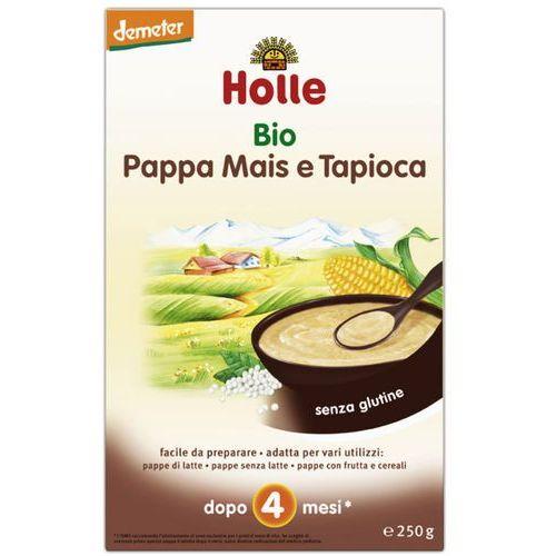 - bezmleczna kaszka kukurydziana z tapioką 250g eko demeter, marki Holle