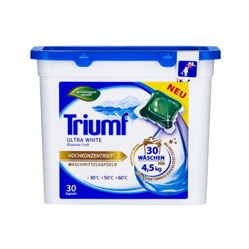 Triumf 30szt ultra white kapsułki do prania białych tkanin