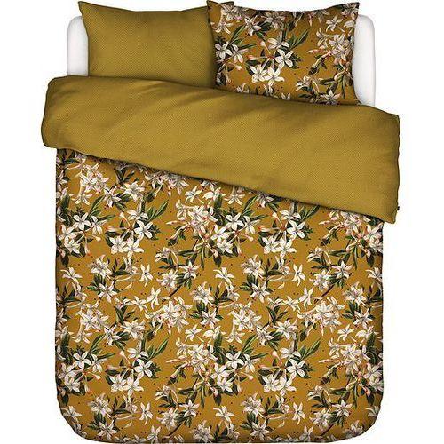 Pościel Verano złota 200 x 200 cm z 2 poszewkami na poduszki 80 x 80 cm (8715944652940)