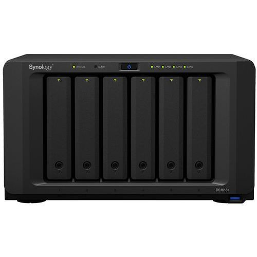 Synology DS1618+ 6x0HDD 4GB 4x2.1Ghz 4xGbE 2xM.2 PCIe (4711174722976)