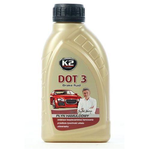 Płyn hamulcowy dot3 0,5 litra marki K2
