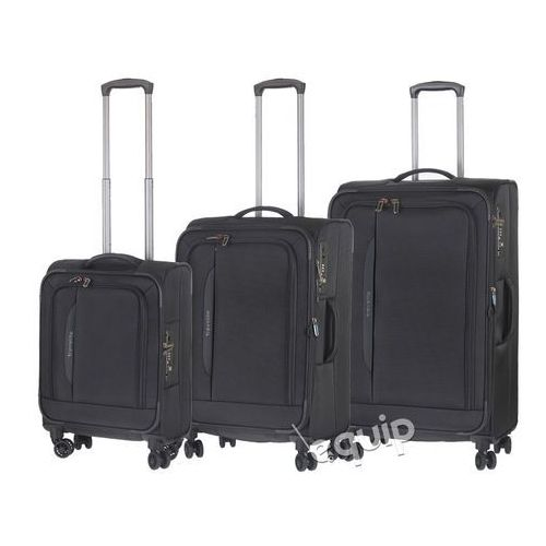 OKAZJA - Zestaw walizek Travelite Crosslite - czarny