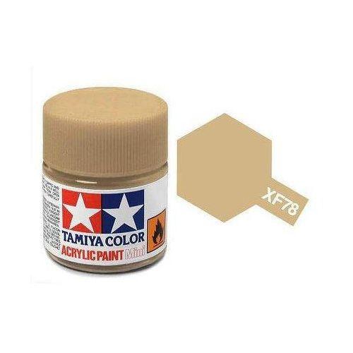 Farba akrylowa - xf78 wooden deck tan matt / 10ml 81778 marki Tamiya