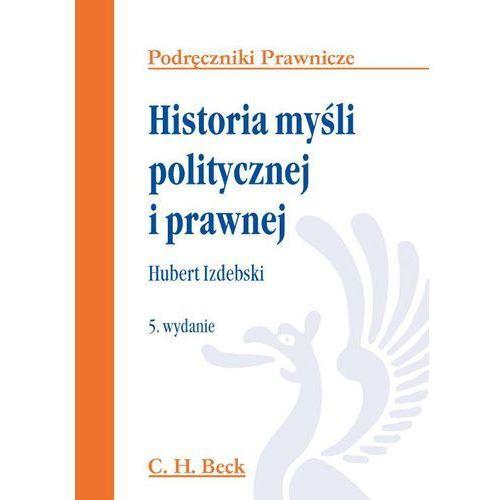 Historia myśli politycznej i prawnej (9788325553173)