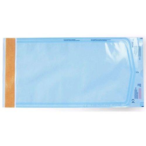 Torebki do sterylizacji foliowo-papierowe samoprzylepne PARA+EO 100x250mm