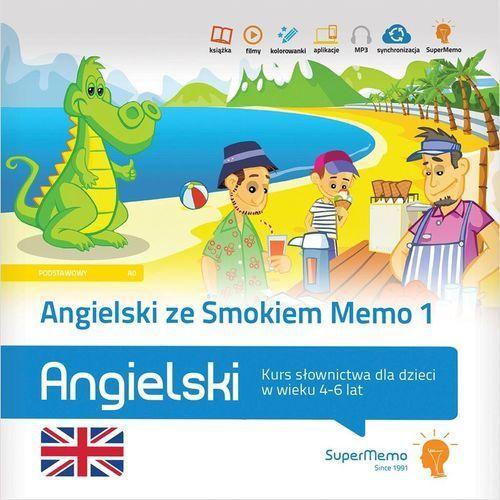 Angielski ze Smokiem Memo 1 Kurs słownictwa dla dzieci w wieku 4-6 lat (2018)