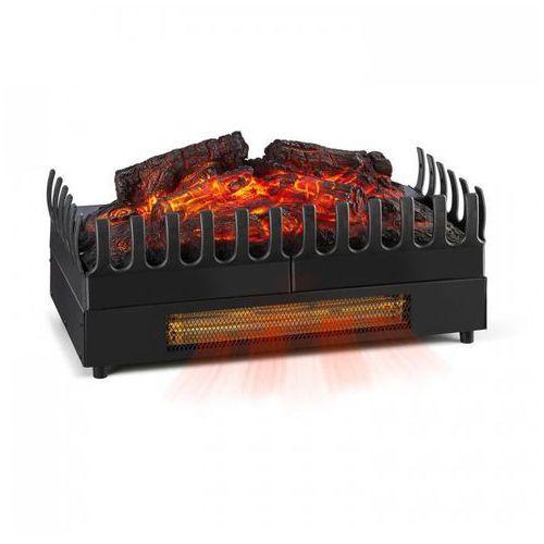 Klarstein Kamini FX kominek elektryczny wkład do kominka elektrycznego LED czarny (4260509681698)