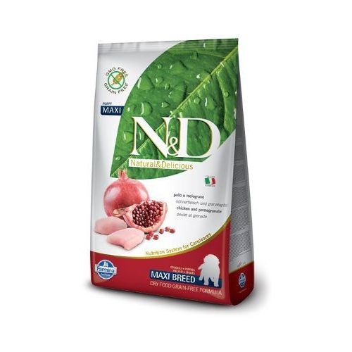 Farmina N&d grain free puppy maxi chicken&pomegranate -