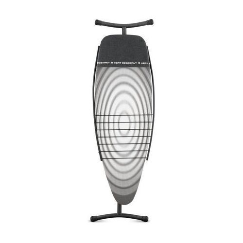 Deska do prasowania rozm. D,Titan Oval z podkładką pod żelazko i półką na ubrania