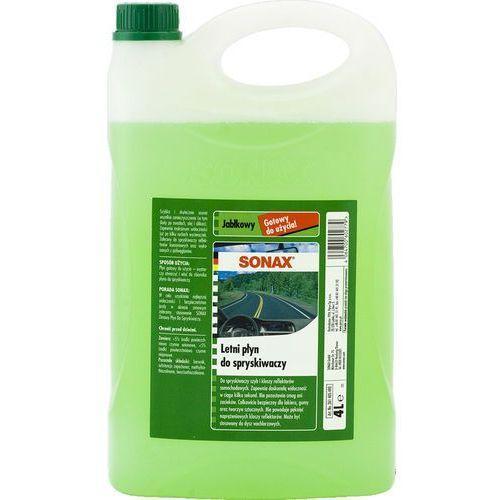 Letni płyn do spryskiwaczy SONAX (jabłkowy) 4 litry