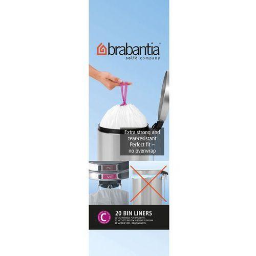 Brabantia Worki na śmieci rozmiar c 10-12 l 20 szt.