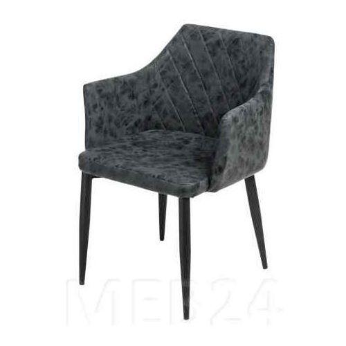D2.design Krzesło emma vintage pu black