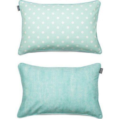 Poszewka dekoracyjna dots mini 40 x 60 cm miętowa marki We love beds