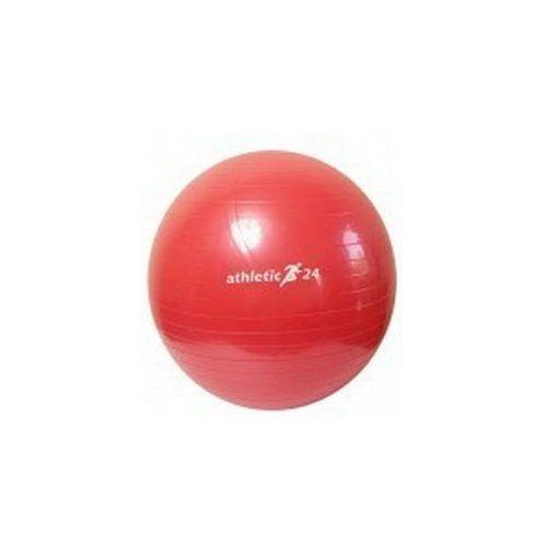 ATHLETIC24 Classic 45 czerwona - PIłka fitness - Czerwony