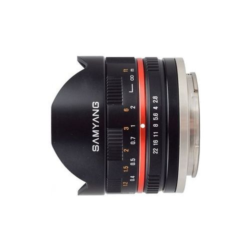 Samyang 8mm f/2,8 - czarny (Sony E) - przyjmujemy używany sprzęt w rozliczeniu | RATY 20 x 0%