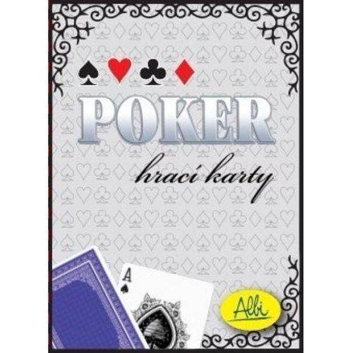 Karty do pokera niebieskie (8590228014849)