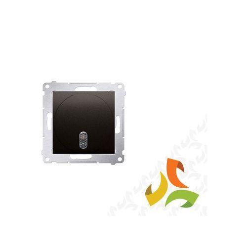 Dzwonek elektroniczny 8–12 v, brąz mat ddt1.01/46 simon 54 premium marki Simon kontakt