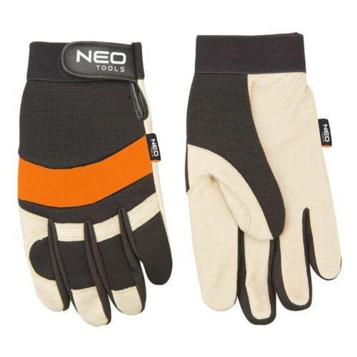 Neo 97-606 rękawice robocze skóra świńska licowa