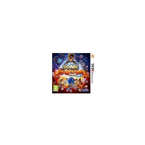 Sega Sonic boom: fire & ice 3ds