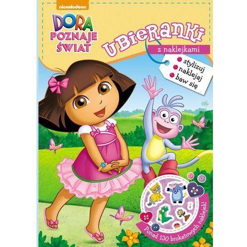 Dora poznaje świat Ubieranki z naklejkami - Jeśli zamówisz do 14:00, wyślemy tego samego dnia. Darmowa dostawa, już od 300 zł. (2016) - OKAZJE