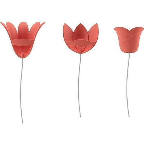Dekoracja ścienna bloomer czerwona marki Umbra