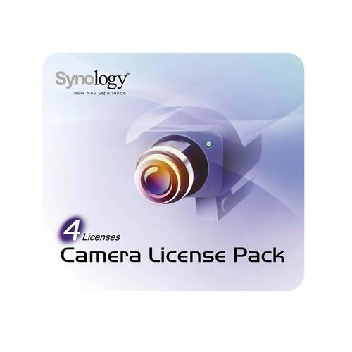 Synology Camera License Pack - 4 pack - Angielski (4711174720293)