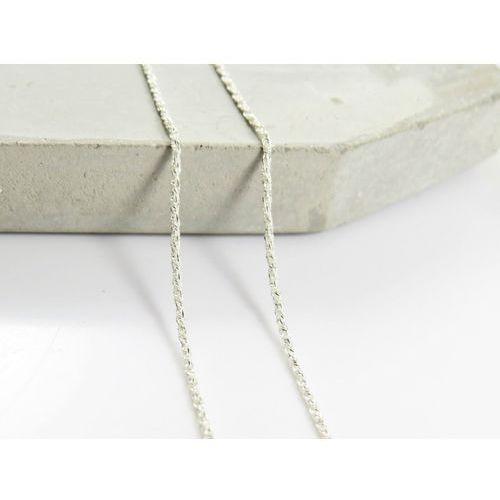 Megasilver Srebrny (925) łańcuszek lisi ogon 50 cm