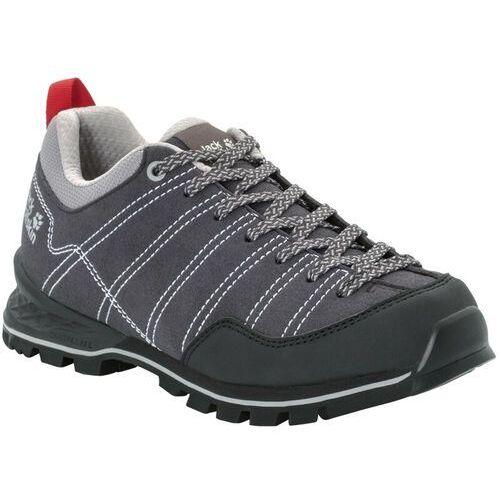 scrambler buty kobiety, phantom/light grey uk 7 | eu 40,5 2020 buty turystyczne marki Jack wolfskin