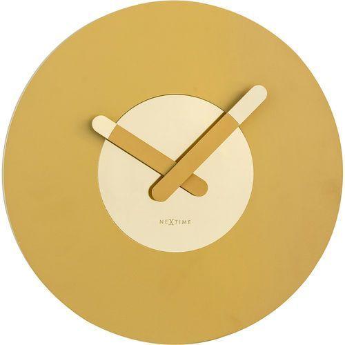 Zegar ścienny In Touch Nextime złoty (3189 GO)