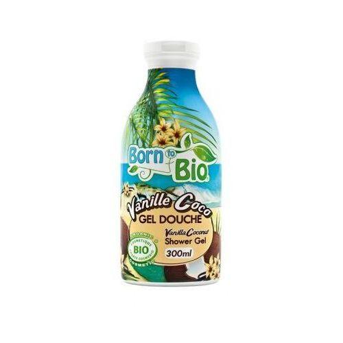 """Żel pod prysznic bio """"kokos & wanilia"""" 300ml marki Born to bio"""