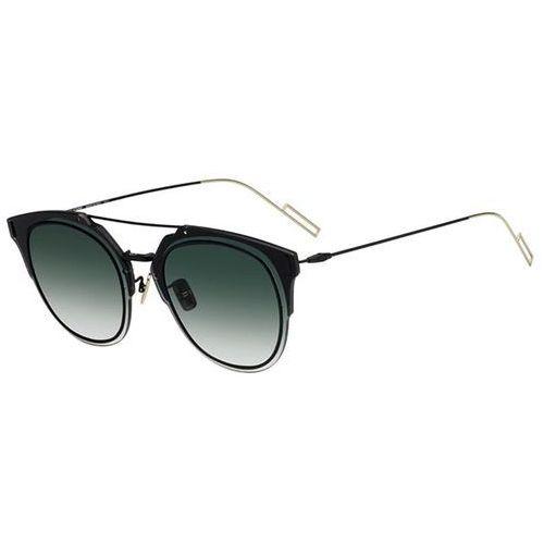 Okulary Słoneczne Dior COMPOSIT 1F Asian Fit 2M2/8Z, kolor żółty