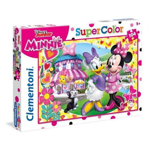 Clementoni Puzzle supercolor 104 minnie