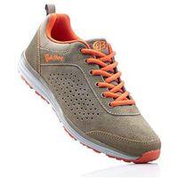 Buty sportowe skórzane Brütting bonprix jasnobrązowo-pomarańczowy, w 3 rozmiarach
