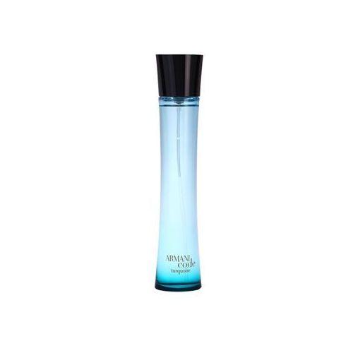 Armani  armani code turquoise 75 ml orzeźwiająca woda (3605522018167)