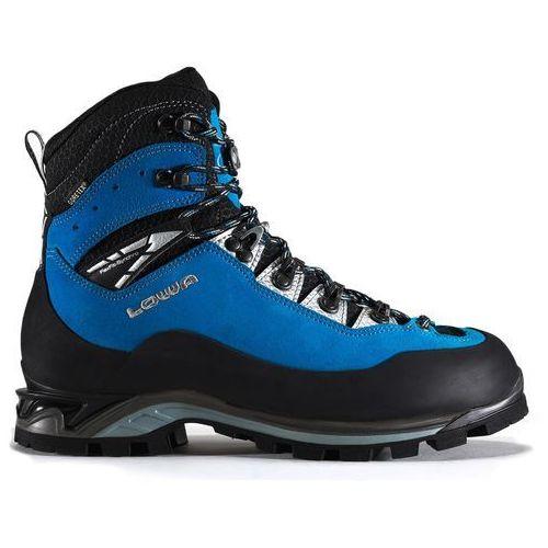 Nowe męskie buty cevedale pro gtx blue/black rozmiar 42/mp 270mm marki Lowa
