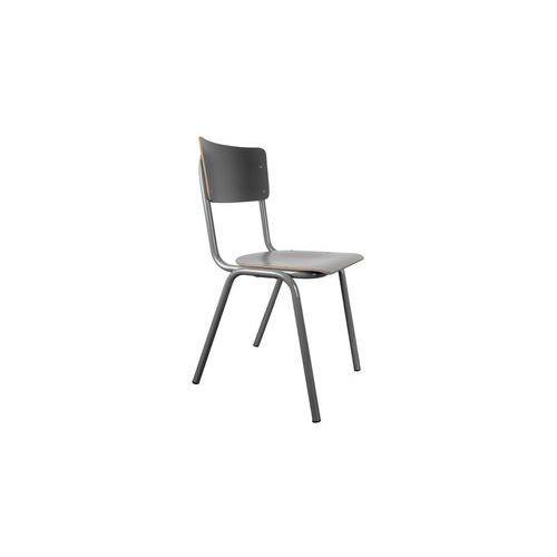 krzesło back to school hpl szare 1100286 marki Zuiver
