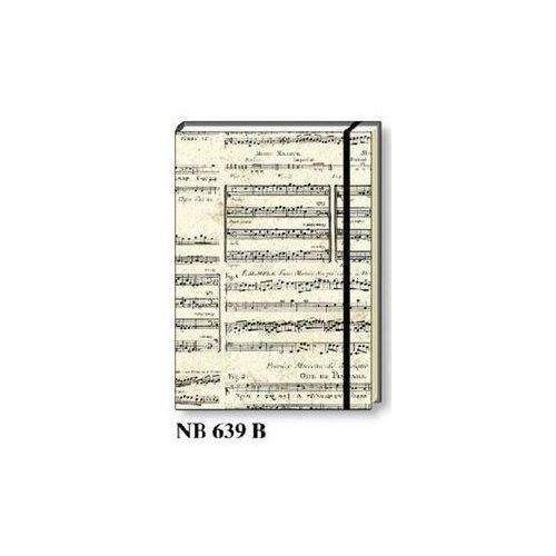 Notatnik ozdobny A5 64 kartki TW NB 639B - ROSSI