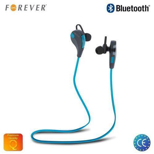 Słuchawki Forever BSH-100 Czarno-niebieskie Darmowy odbiór w 21 miastach!