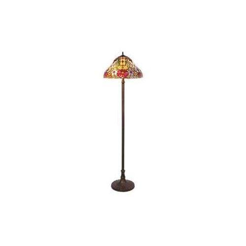 Lampa stojąca podłogowa Rabalux Mirella 2x60W E27 brąz 8088 (5998250380889)