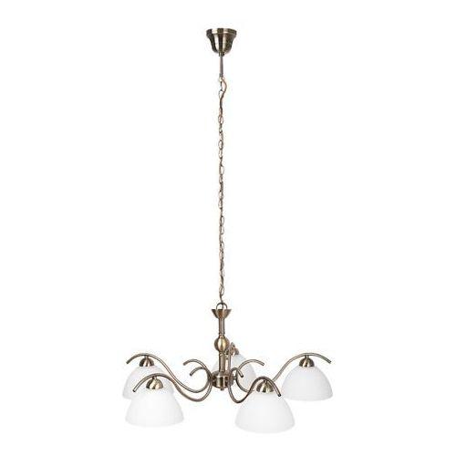 Rabalux Lampa wisząca aurelia 5x40w e14 brąz 7140 (5998250371405)