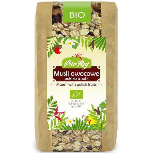 Bio raj (konfekcjonowane) #musli owocowe polskie smaki bio 300 g - bio raj