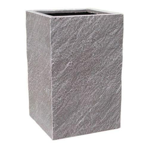 Donica kompozytowa Cermax kwadratowa 30 x 30 x 47 cm ciemny grafit, MPSS31226/2/D3CG