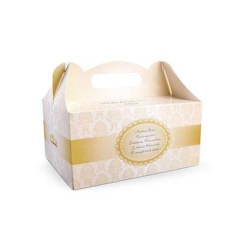 Ap Ozdobne pudełko na ciasto weselne 1sztuka (5902230736238)