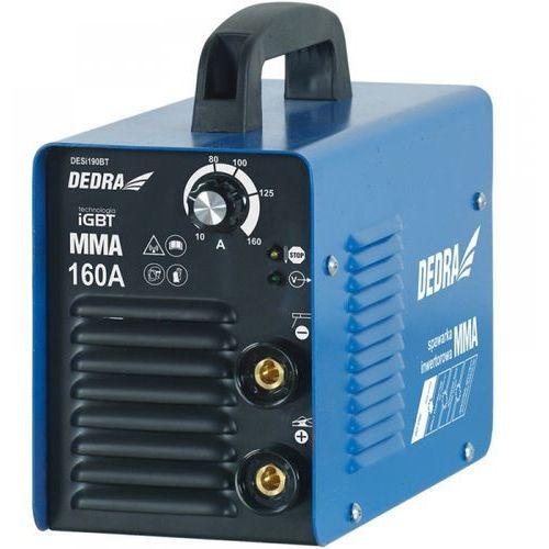 Spawarka inwertorowa DEDRA DESi190BT MMA 160A TIG ready IGBT (5902628761446)