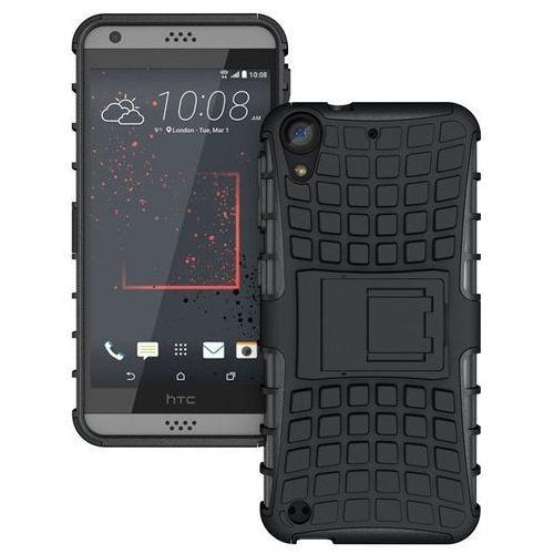 Pancerna obudowa etui Perfect Armor HTC Desire 530 Czarny - Czarny z kategorii Futerały i pokrowce do telefonów