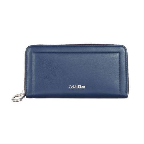 Calvin klein large ziparound portfel blue