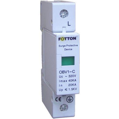 """Ogranicznik przepięć fotton obv1-c40/1p 20/40ka klasa c, ochronnik przciwprzepięciowy marki Centropol """"fotton"""""""