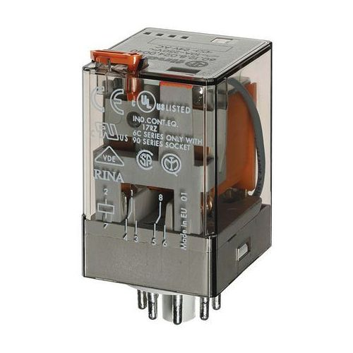 Przekaźnik prądowy 2CO 10A 0,4A AC Finder 60.12.4.041.0040