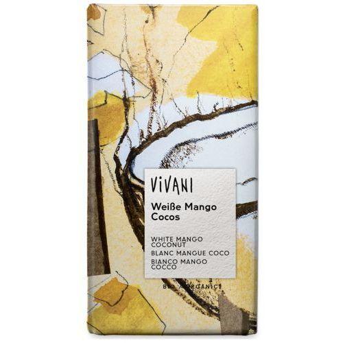 Vivani (czekolady, kakao instant) Czekolada biała mango kokosowo-jogurtowa bio 80 g - vivani (4044889003246)