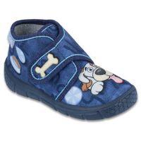 buty dziewczęce honey 22 niebieski marki Befado
